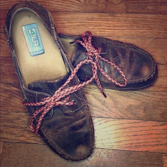 28c27a8cb24 Ariat Shoes - Ariat driving mocs   boat shoes